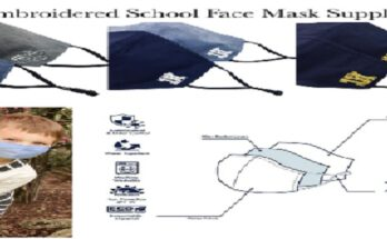 Private School Logo Face Mask